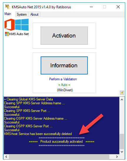 Successfully Activated Microsoft Office 2016