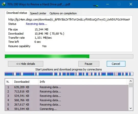 Download Torrent File ZBIGZ Site With IDM Software