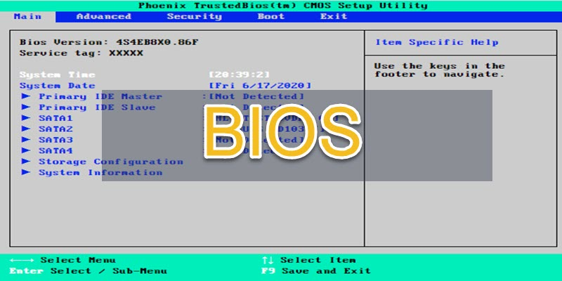 What Is BIOS And Its Function
